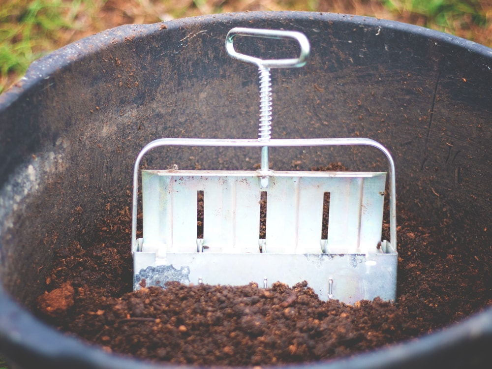 "Using a soil blocking tool allows you to create soil ""blocks"" for starting your seeds for the garden. It reduces waste and expense, since there is no need for the little soil ""disks"" or other store bought starters."