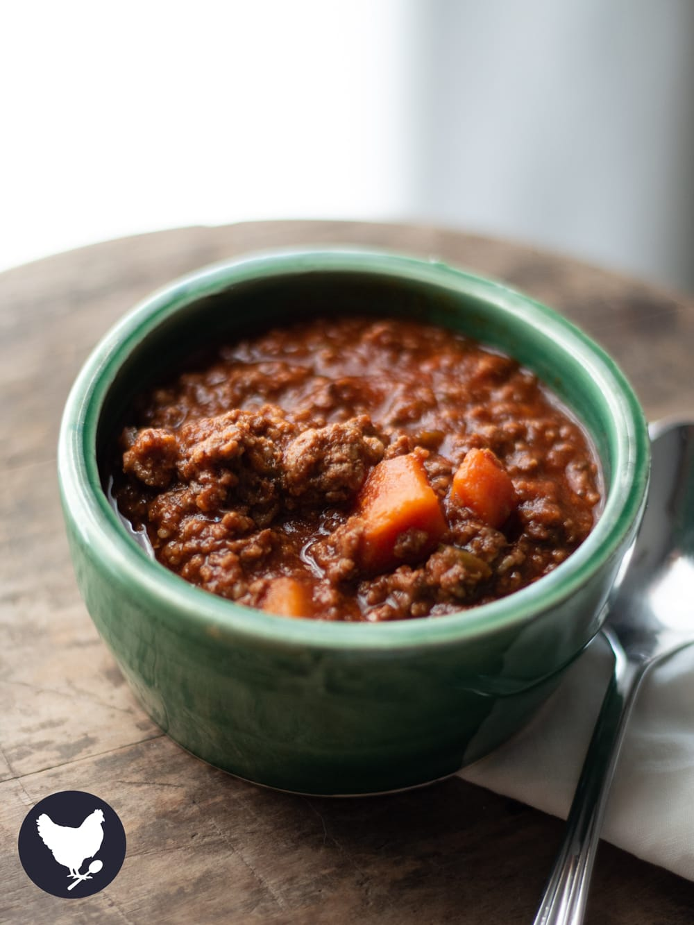 Paleo Chili, the perfect meal for chilly days. Made in your Instant Pot with basic ingredients, this is a low-carb, hearty and nutritious meal.