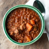 Instant Pot Paleo Chili