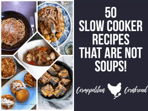 Love using your slow cooker but tired of all the soups and stews? Here's 50 Slow Cooker Meals that are NOT Soups!