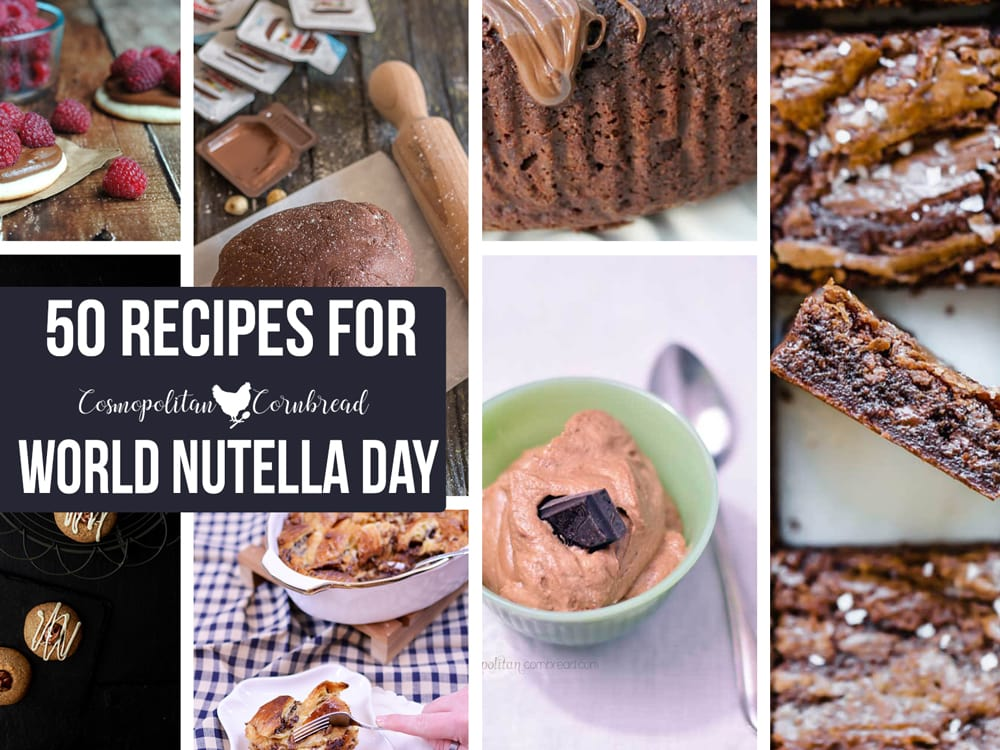 50 Recipes to Celebrate World Nutella Day