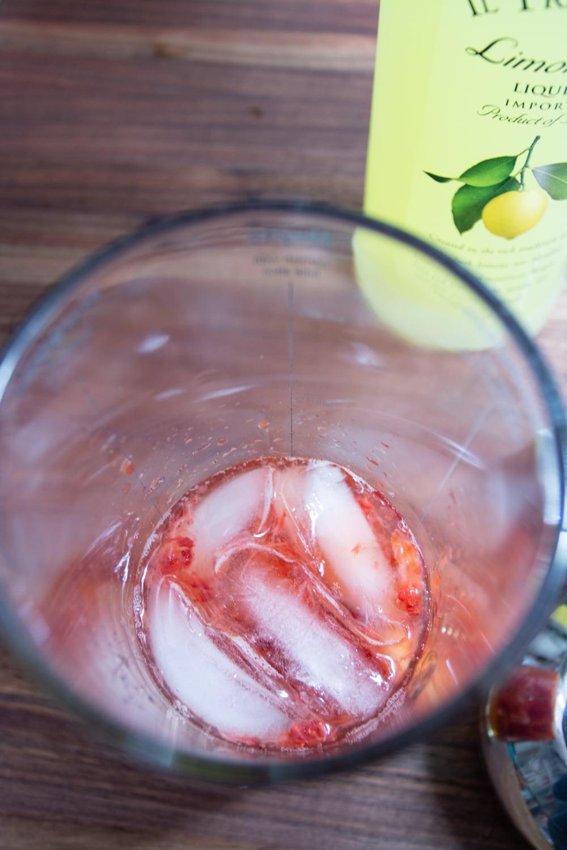 Strawberry Lemonade Martini from Cosmopolitan Cornbread