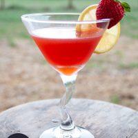 Strawberry Lemonade Martini