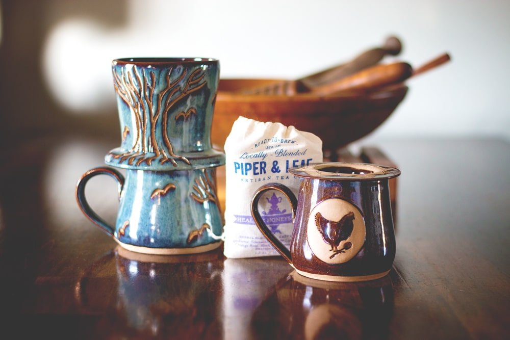 Coffee, and Tea and Pottery...Oh My! | The latest episode and giveaway from Cosmopolitan Cornbread
