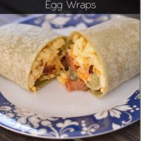 Quicki-Mexi Scrambled Egg Wraps