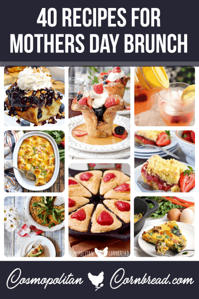 40 wonderful recipes for the perfect Sunday Brunch  #MothersDay