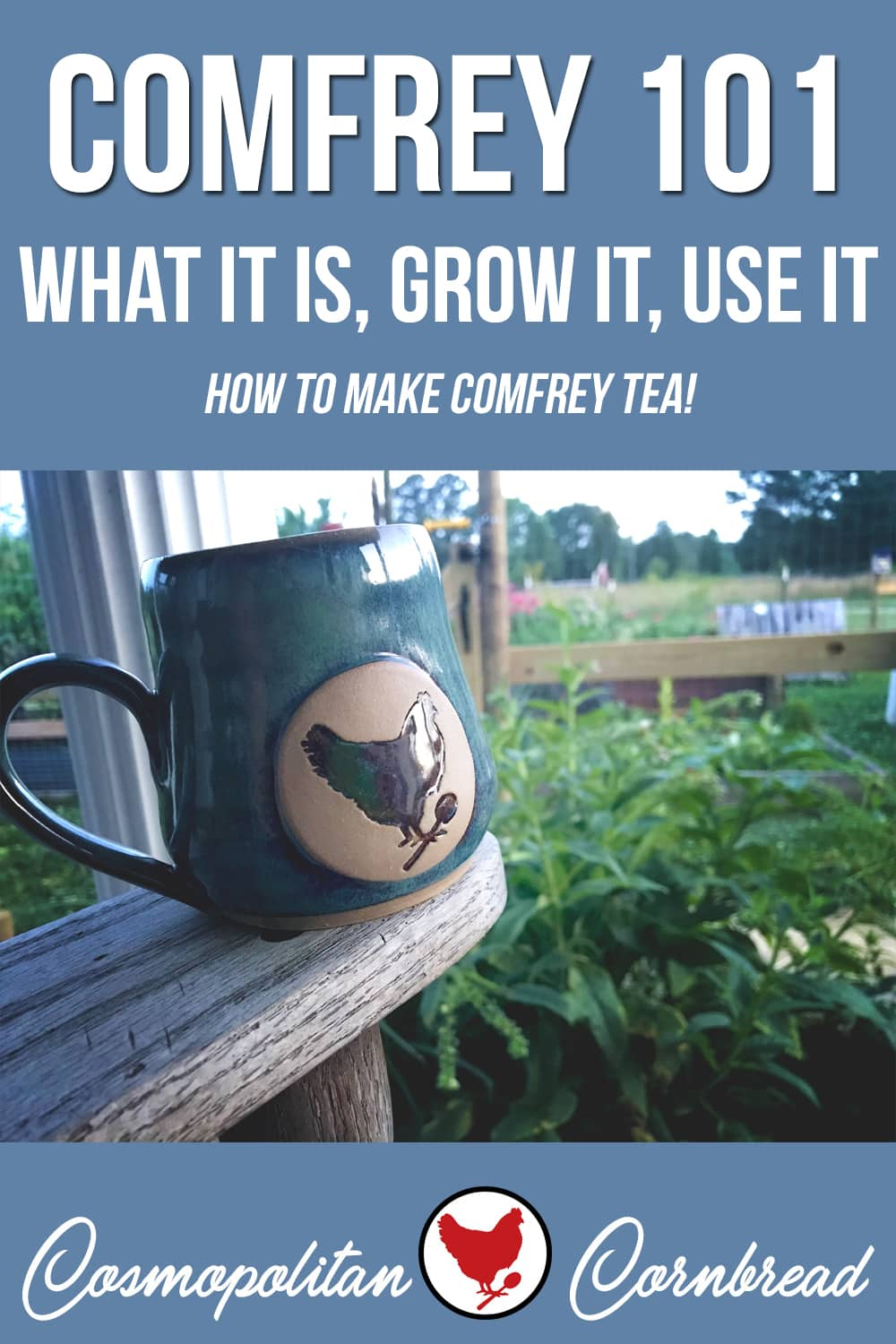 Comfrey is a great plant to grow in your garden. It can be used many ways on the homestead. Today I shared what comfrey is used for, what I personally use it for, and how to grow it. Also- how to make Comfrey Tea for your garden!