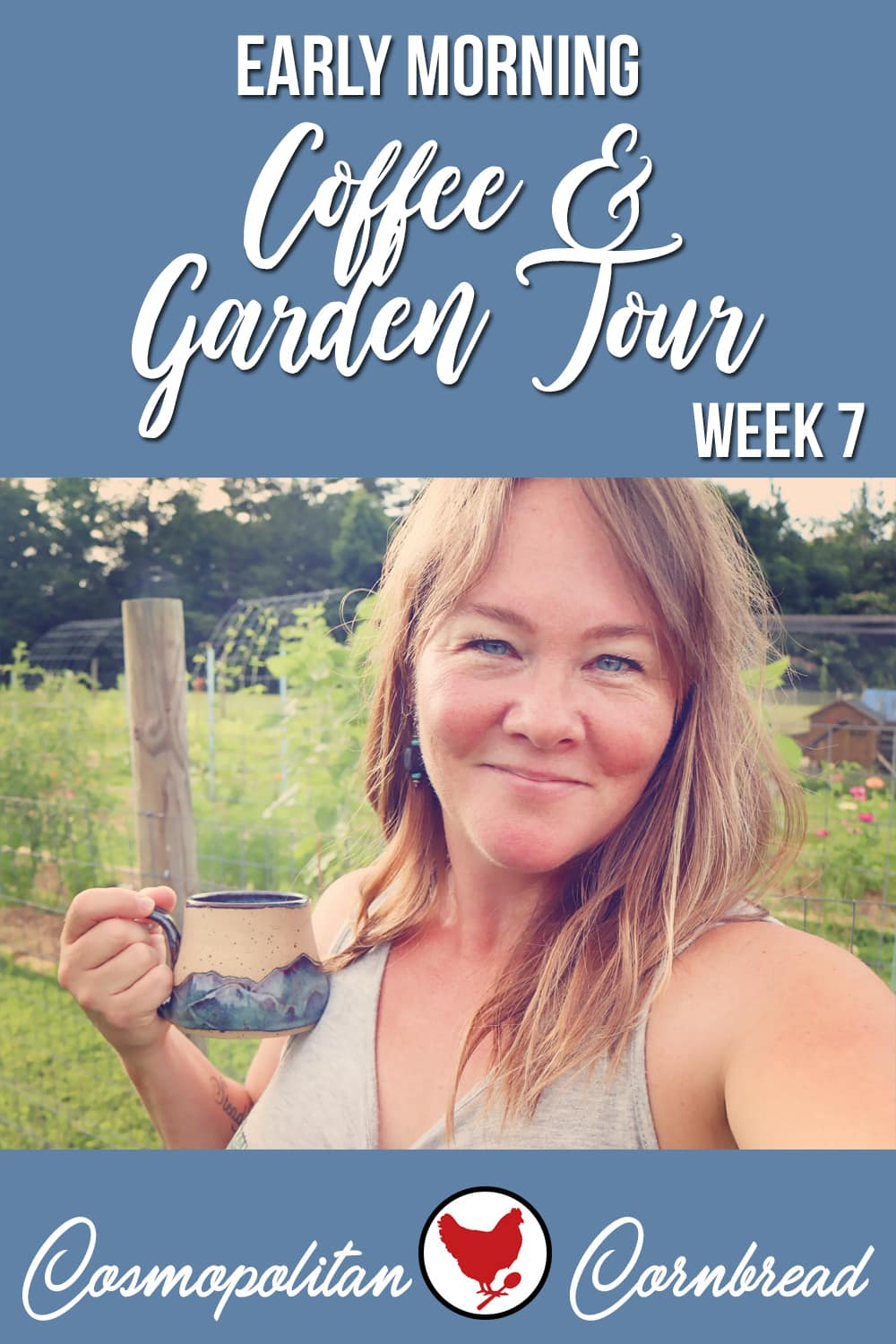 It is week 7 of the potager garden tours, and some things are coming along, some things are struggling, and a couple things are done for.