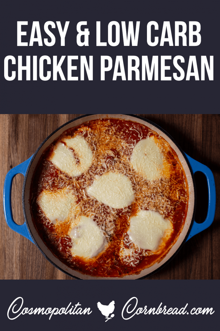 How to make Chicken Parmesan - a low carb and easy version.