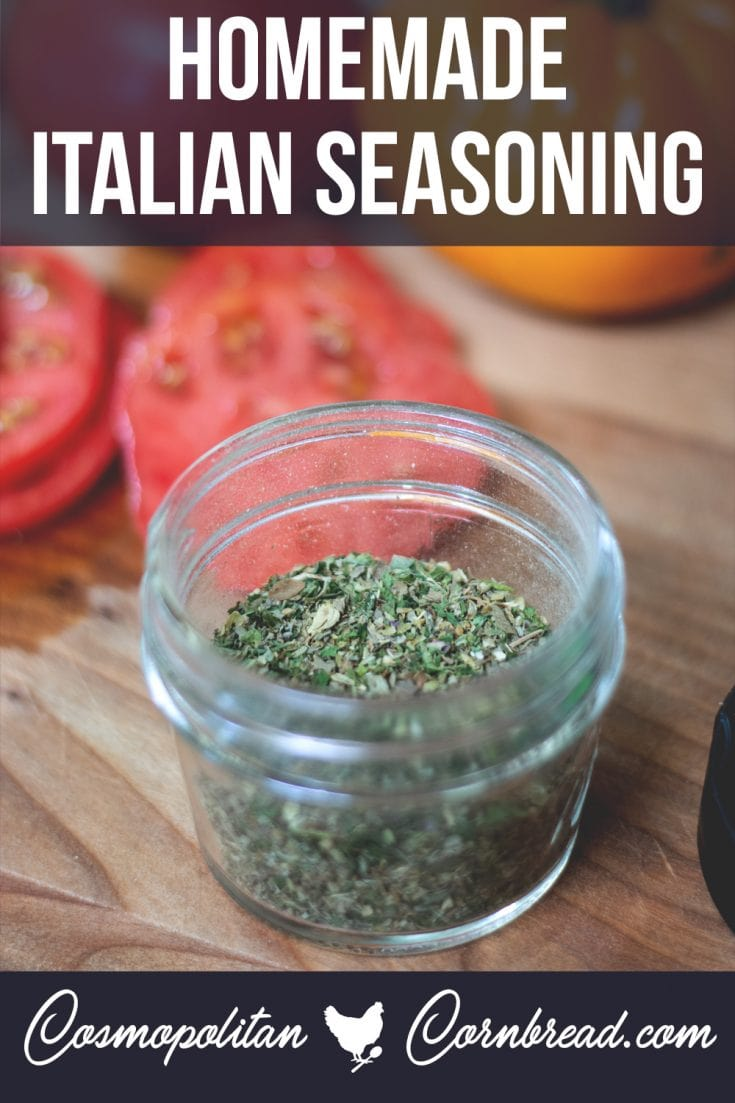 Making your own Italian seasoning blends is a great way to save money, and save a trip to the store!