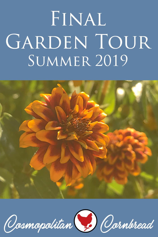Take a walk through the garden on the final garden tour of summer 2019 at A Good Life Farm.
