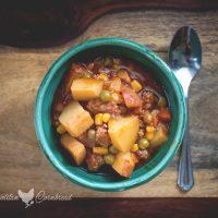 Shortcut Hamburger Soup | Instant Pot