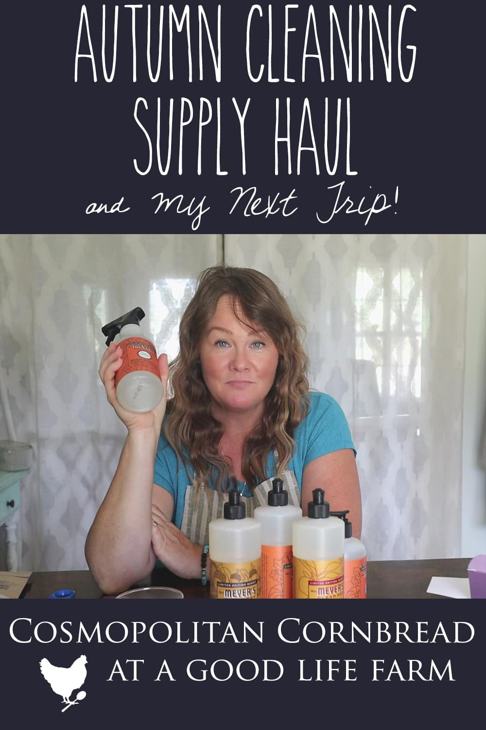 Today I shared my cleaning supply haul from Grove, and then I shared about my trip that came up for this weekend. It's someplace I have always wanted to go!