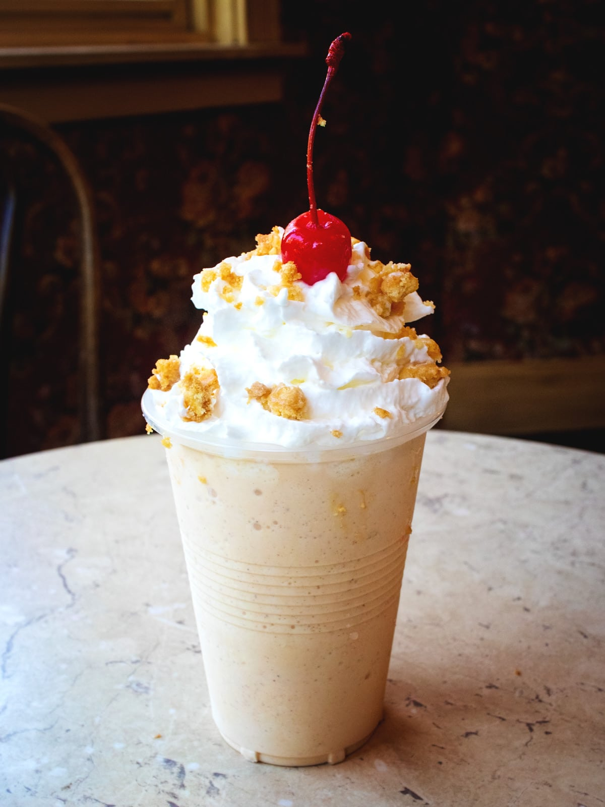 Pumpkin Spice Milk Shake at the Sweete Shoppe's Candy Kitchen of Dollywood