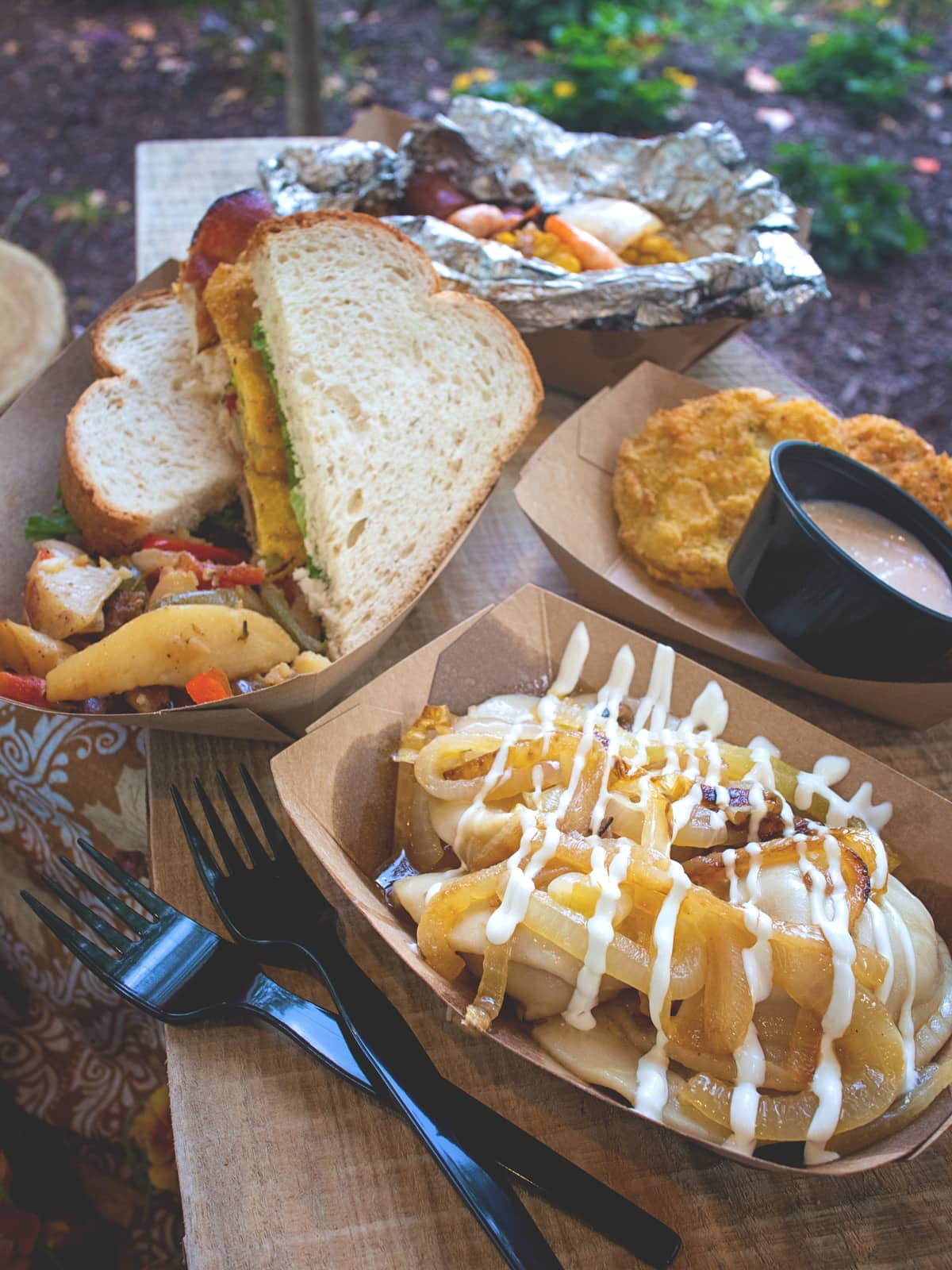 Low Country Boil, Pierogies and More at the Market Square of Dollywood