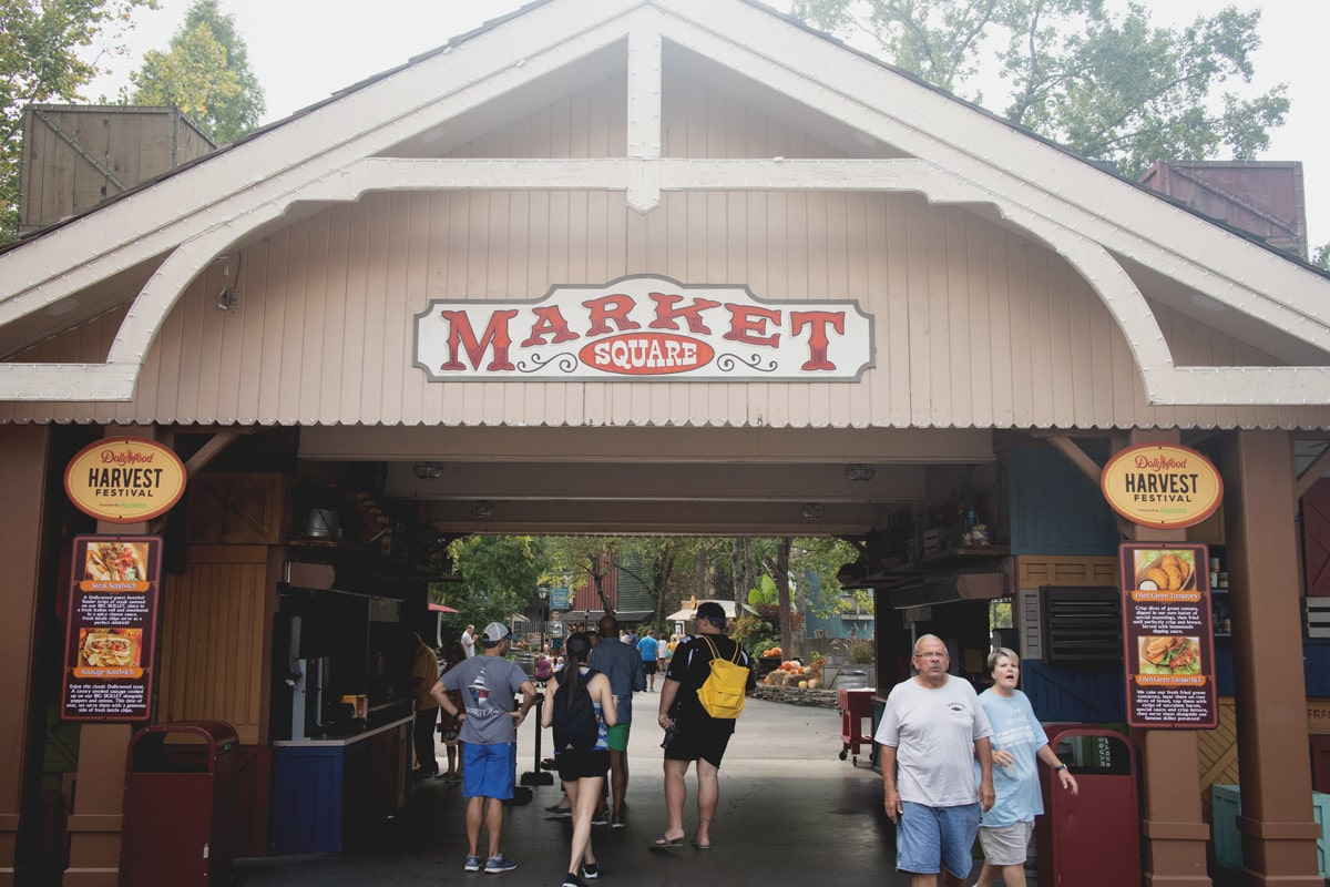 The Market Square at Dollywood