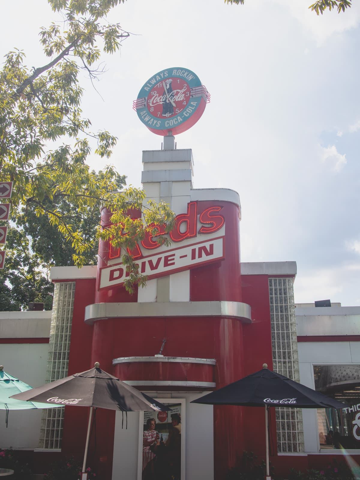 Red's Drive-In at Dollywood