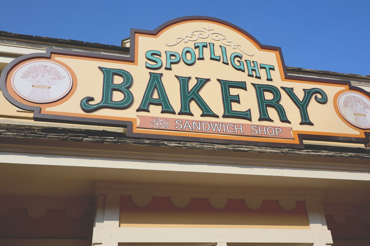 The Spotlight Bakery and Sandwich Shop at Dollywood
