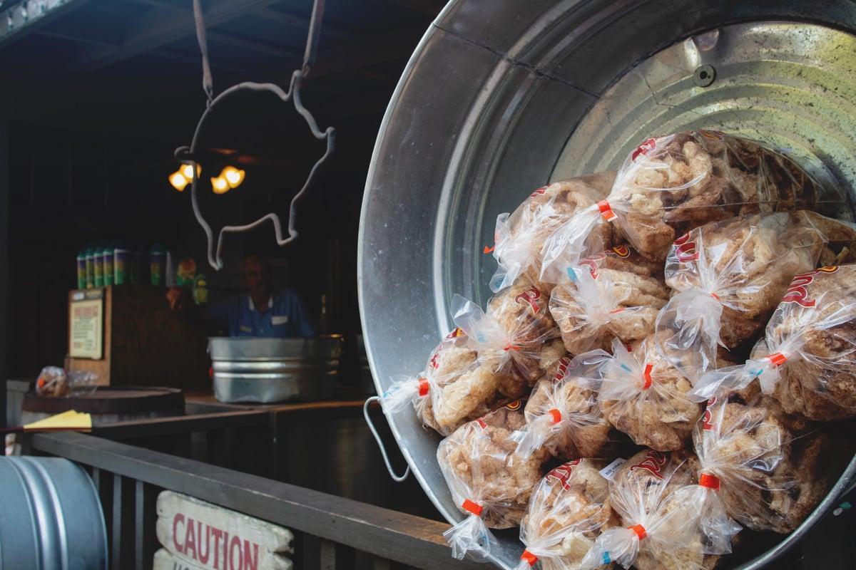 Pumpkin Spice Pork Rinds at Dollywood