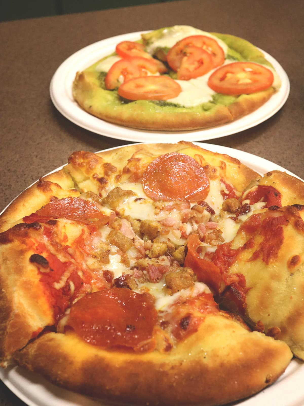 PIzza at Dollywood's Lumber Jack's Pizza
