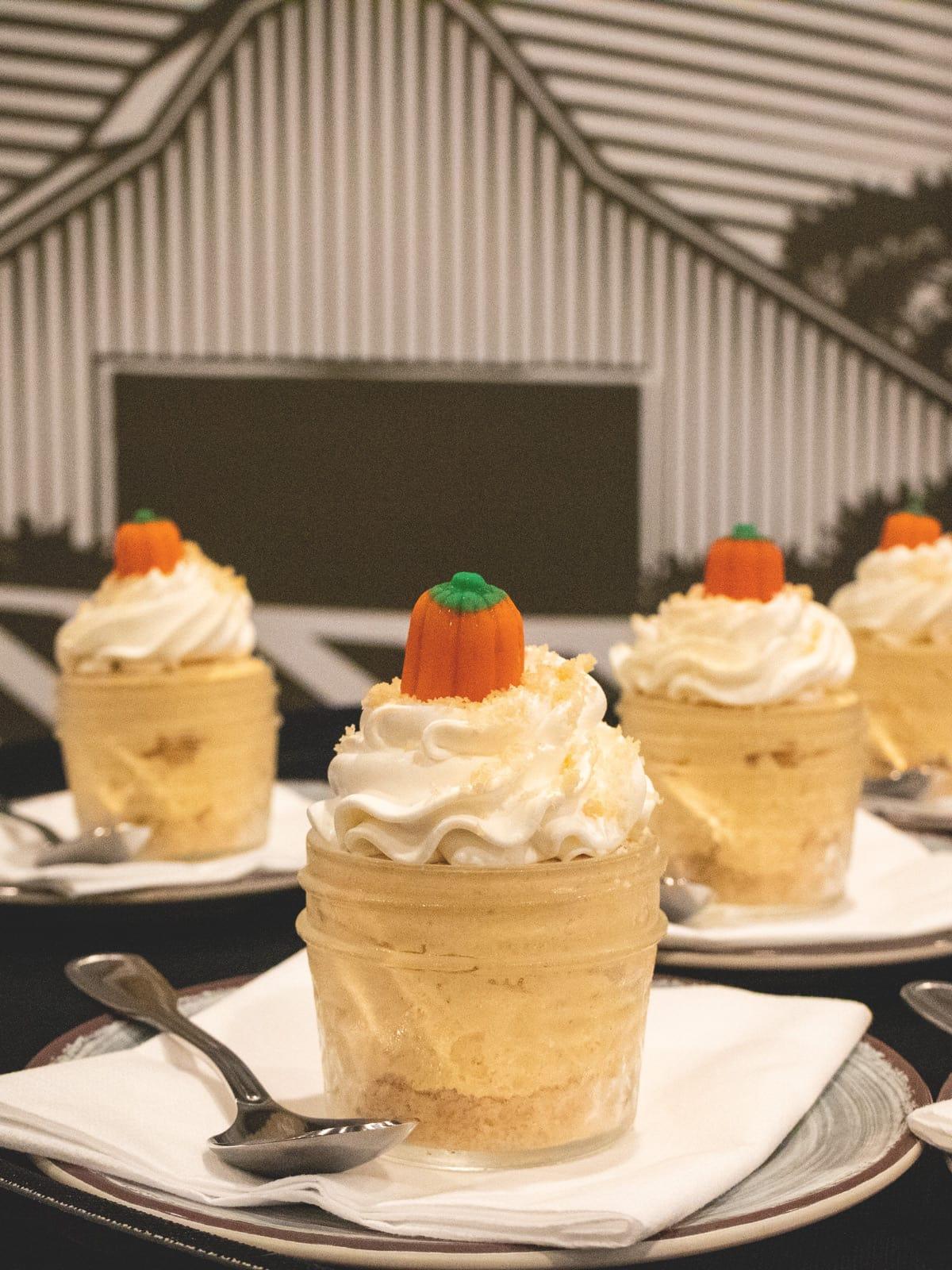 Pumpkin Fluff Dessert at Dollywood's Front Porch Cafe