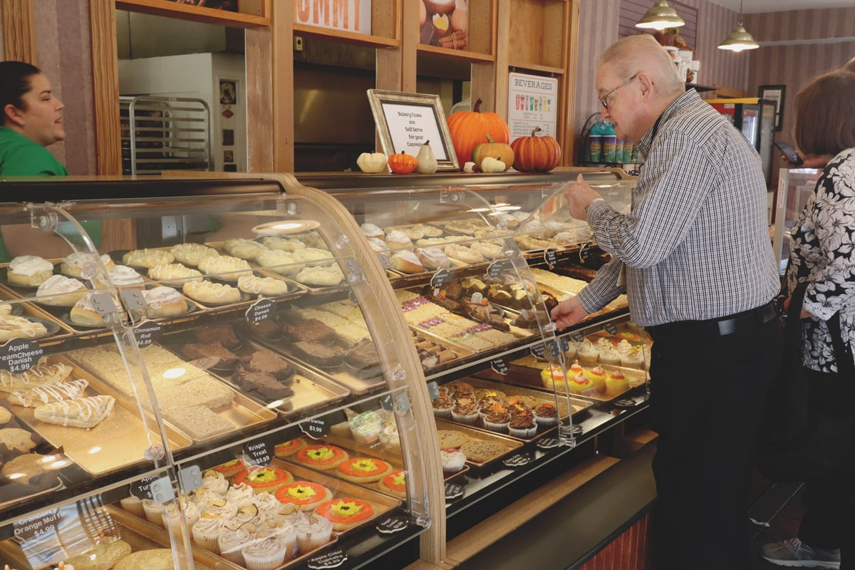 Pastries at The Spotlight Bakery and Sandwich Shop at Dollywood