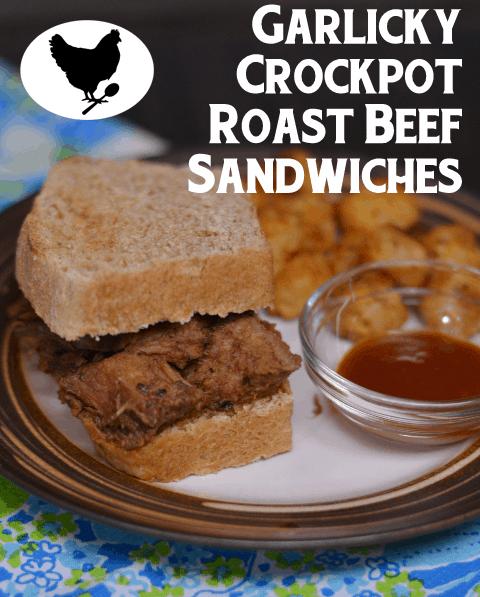 Garlicky Crockpot Roast Beef Sandwiches from Cosmopolitan Cornbread