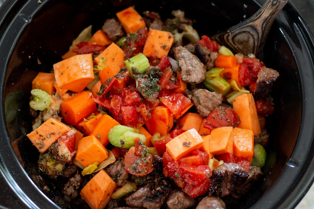 Hearty Harvest Beef Stew