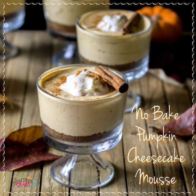 Pumpkin Cheesecake Mousse: A No Bake Recipe
