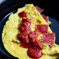 Pizza Omelettes