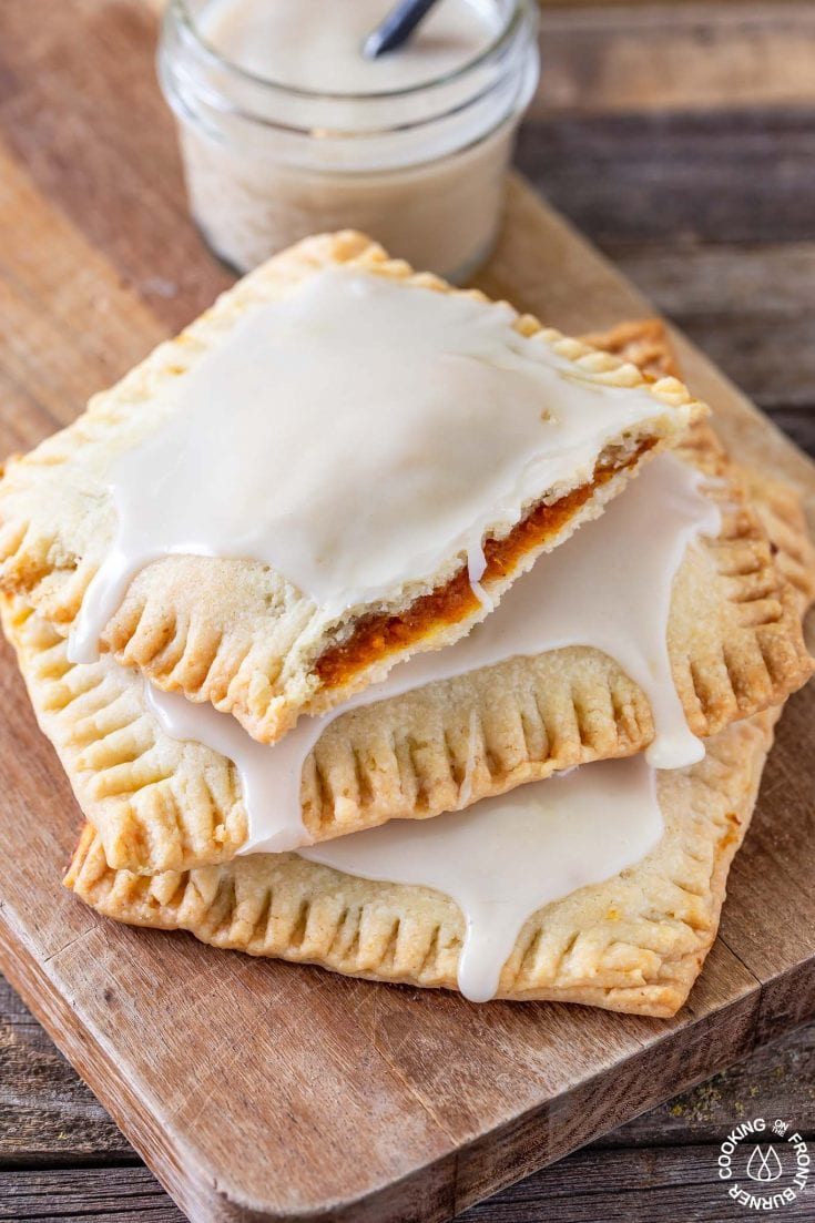 Maple Glazed Pumpkin Pie Pop Tarts