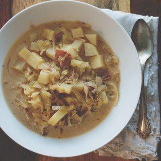 German Cabbage Soup