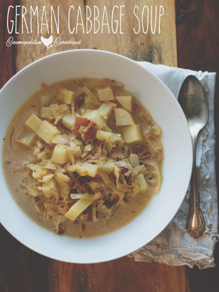 This German Cabbage Soup is incredibly simple to make. If you love the caramelized flavor of fried cabbage, you will adore this soup.