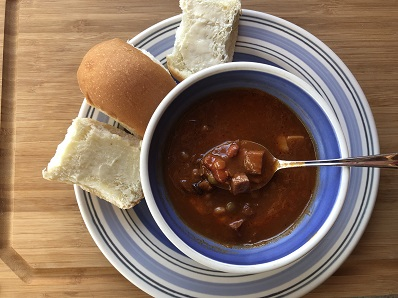 Ham and Bean Slow Cooker Soup - Recipe
