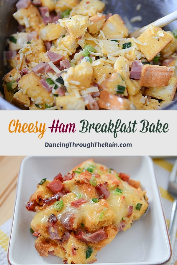 Cheesy Ham Breakfast Bake