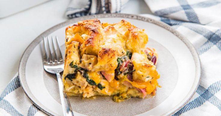 Thanksgiving Leftover Strata