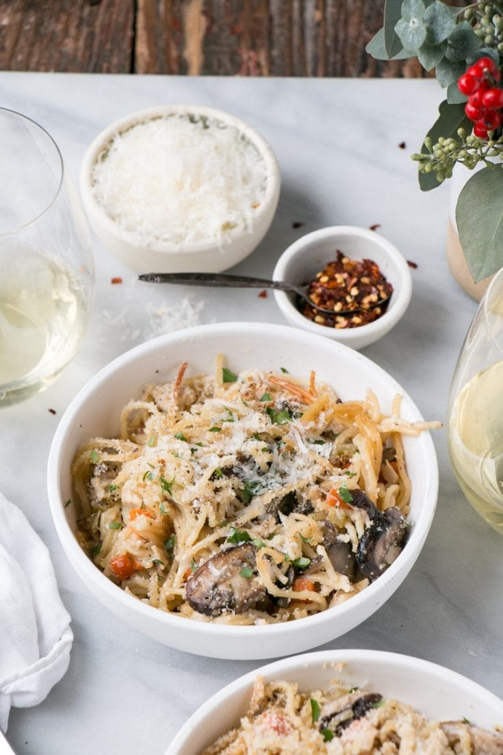 One Pot Turkey Tetrazzini Recipe