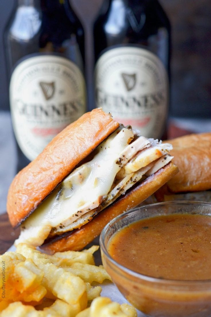 Turkey French Dip Sandwich Recipe- Butter Your Biscuit