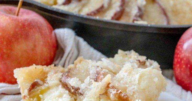 Great-Great-Grandma's Dutch Apple Cake