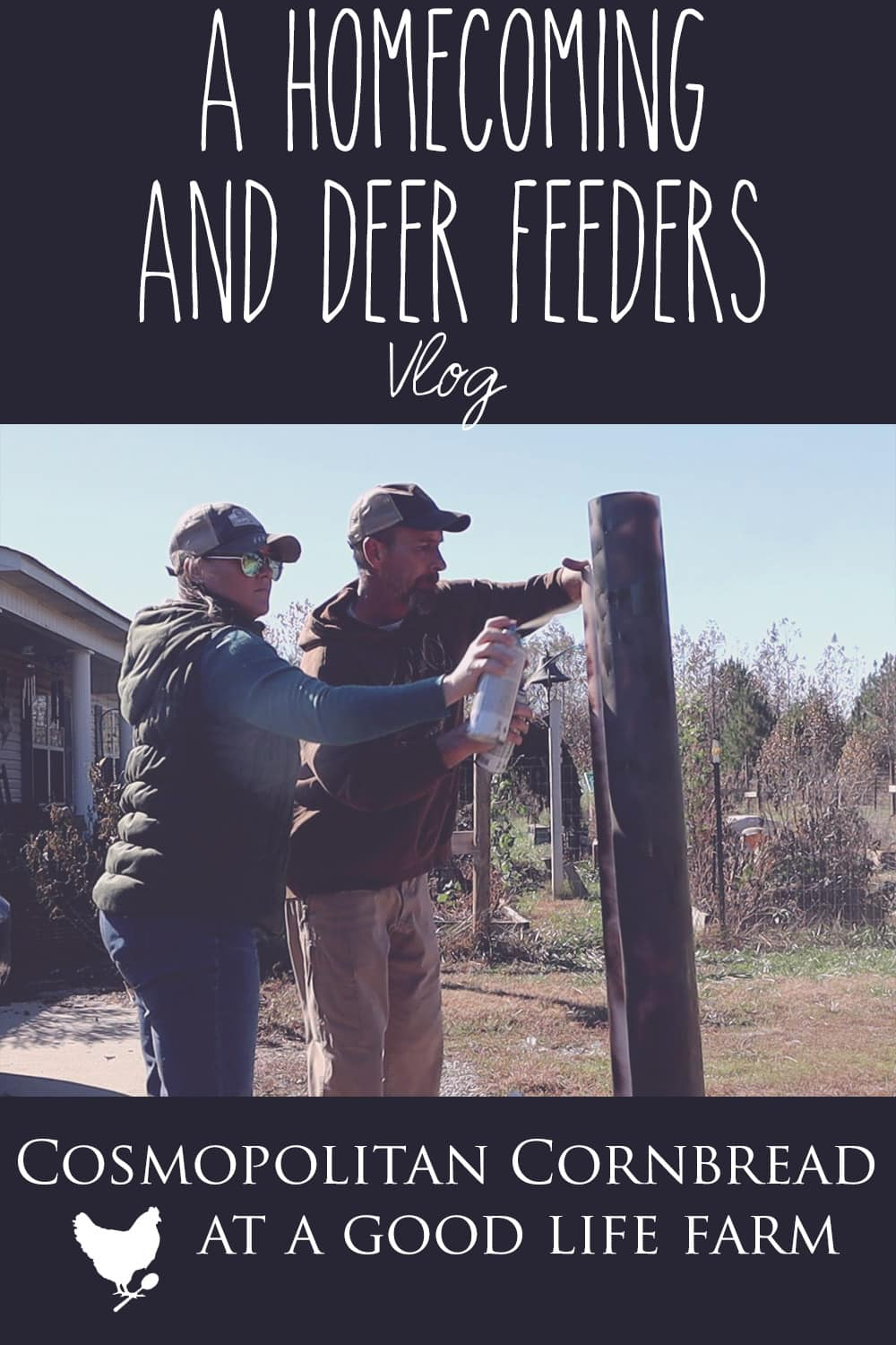 A Homecoming and Deer Feeders