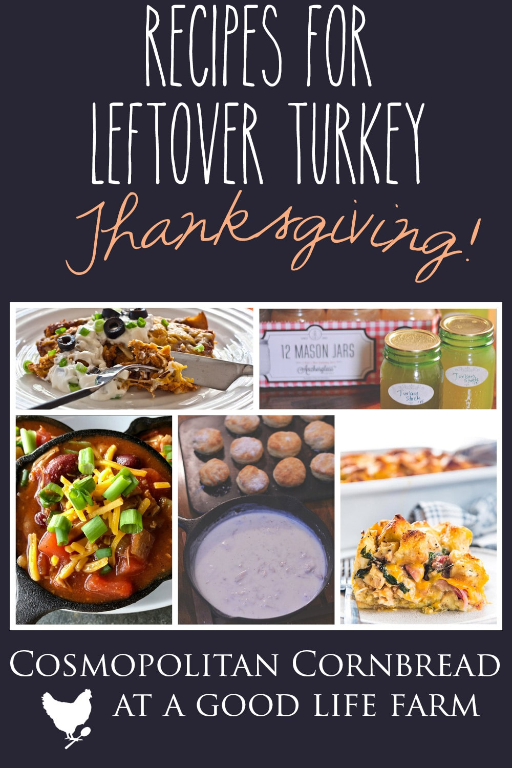 Recipes for using Leftover Turkey #thanksgiving #turkey #recipes