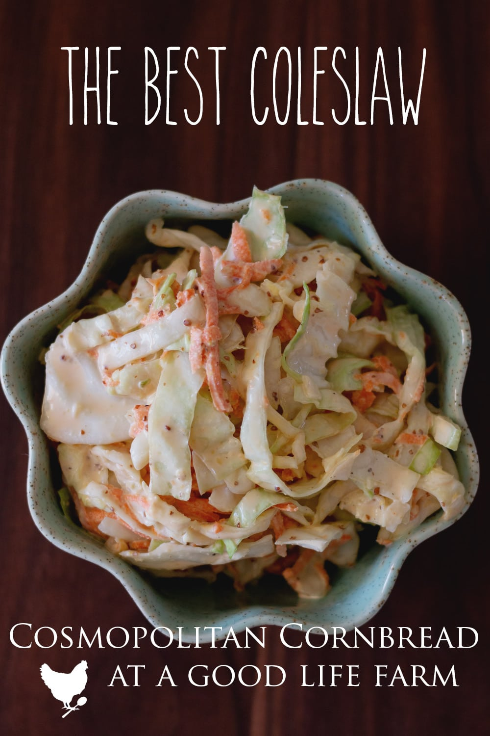 The BEST Coleslaw Recipe - Even those who claim to hate all coleslaw, find themselves asking me for this recipe.