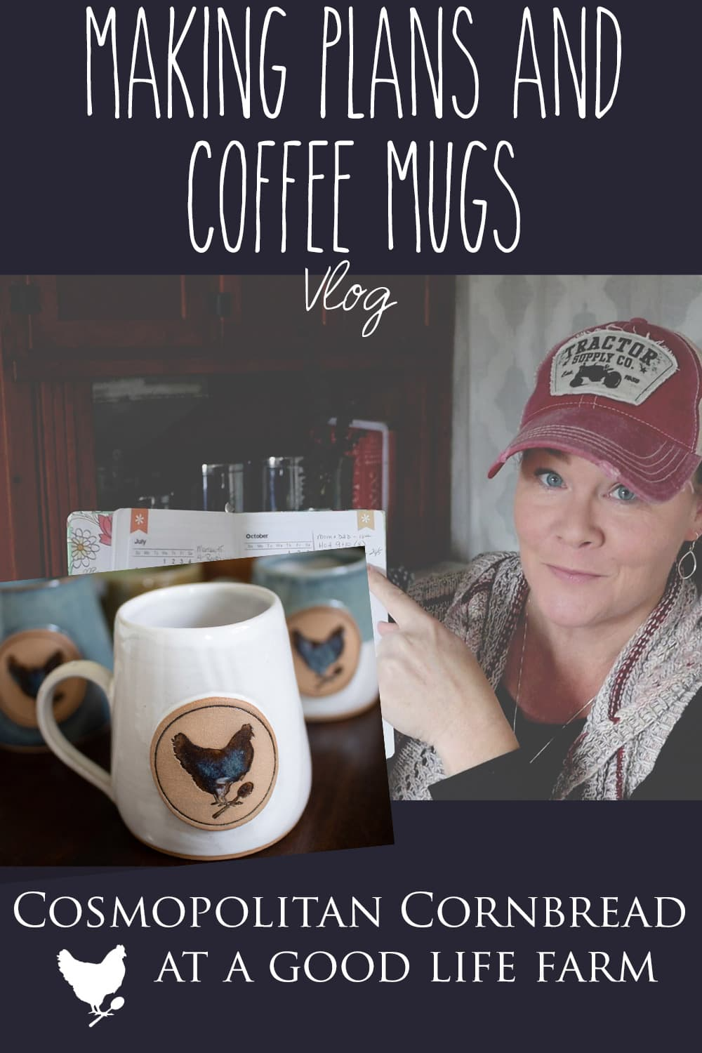I shared a few plans I have moving forward as well as asked for your input on something. Also - an update on the coffee mugs!
