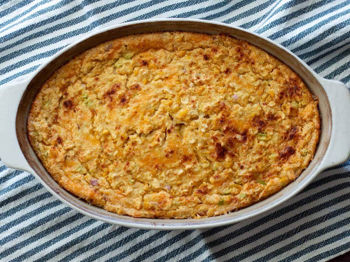 A Family Favorite - Corn Casserole | Cosmopolitan Cornbread