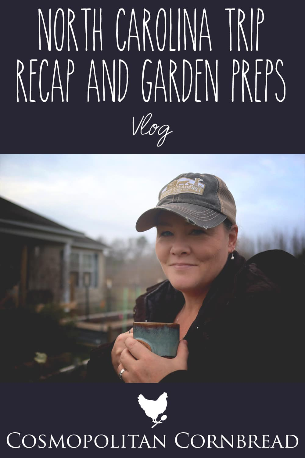 I shared a recap of my trip to North Carolina from the from garden and talked about some preparations for the upcoming garden season.