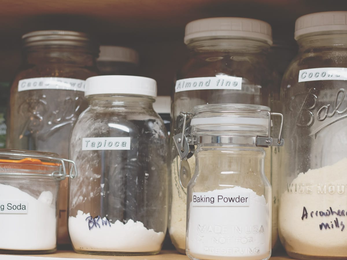 "Get tips for organizing your pantry and decluttering the mess in this ""homemaker helps"" article."