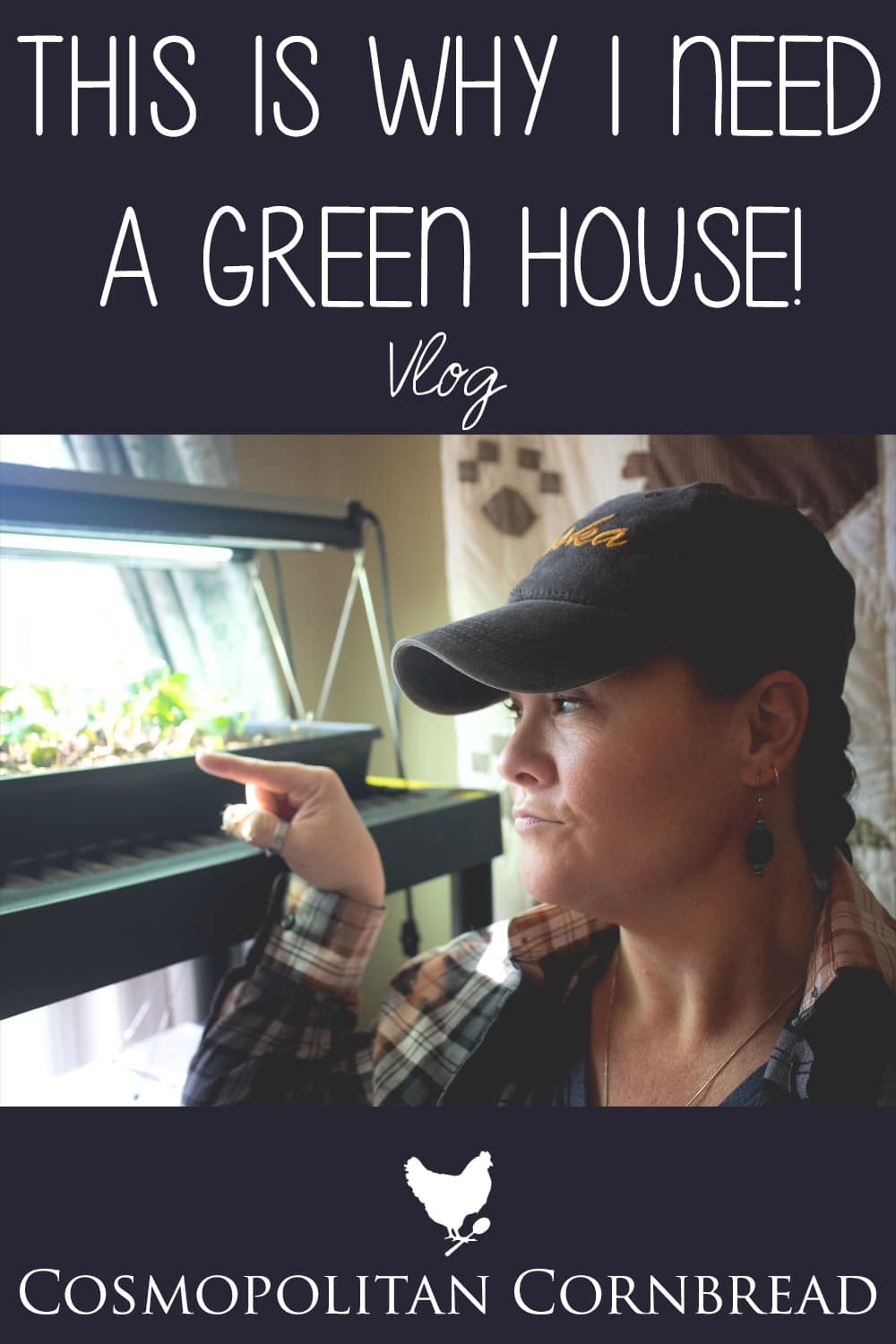 Today I shared a few tips about starting seeds, what works for me, and the reasons I have GOT to get the green house built this year!