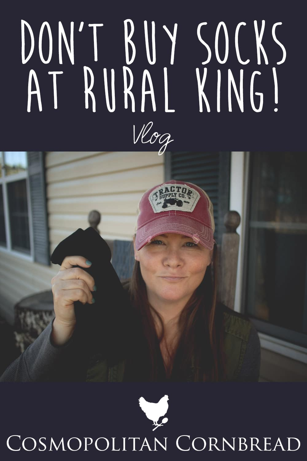 It's was an adventurous day. First I went horseback riding, and things didn't exactly go as expected. Then....I shared why you shouldn't buy socks at Rural King.