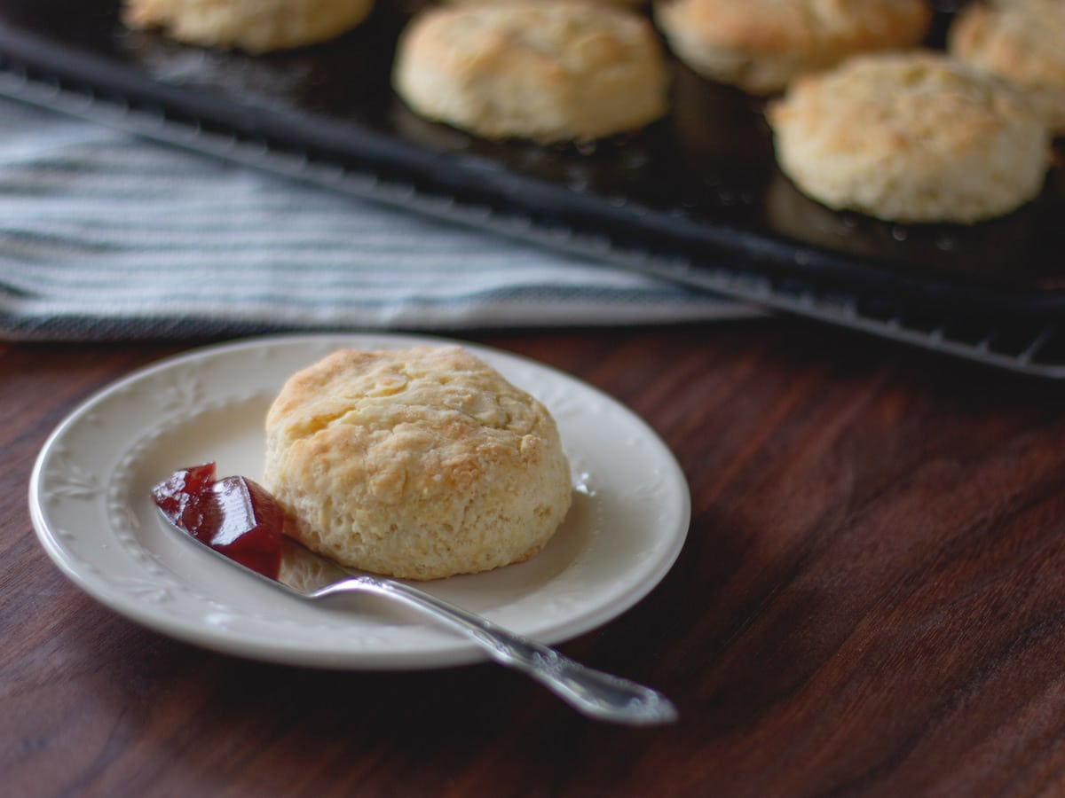 The Best Homemade Biscuits from Scratch - Get the recipe from Cosmopolitan Cornbread