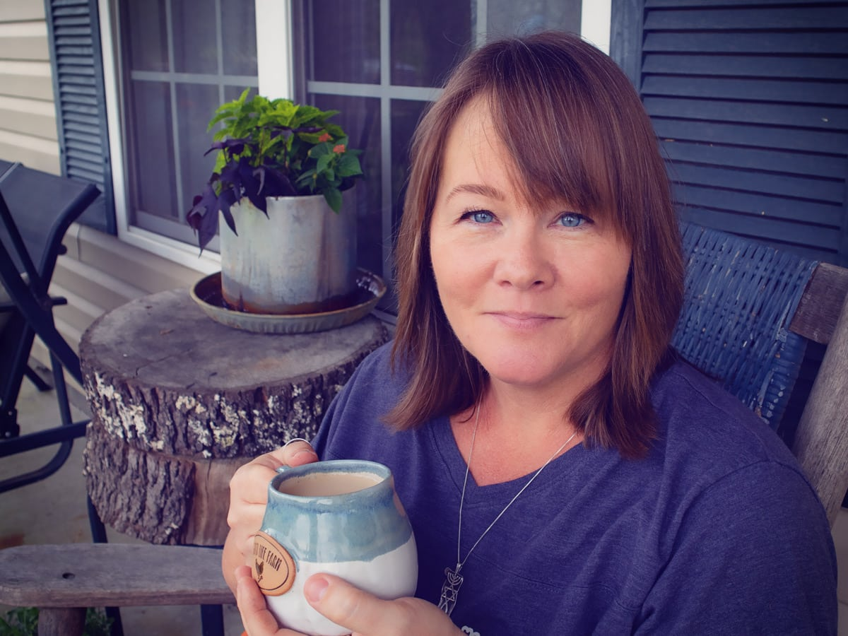 This morning I sat down on the front porch to chat with you about some of the things I hope come out of all this madness.